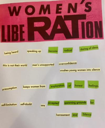 Women's Liberation herstory poem