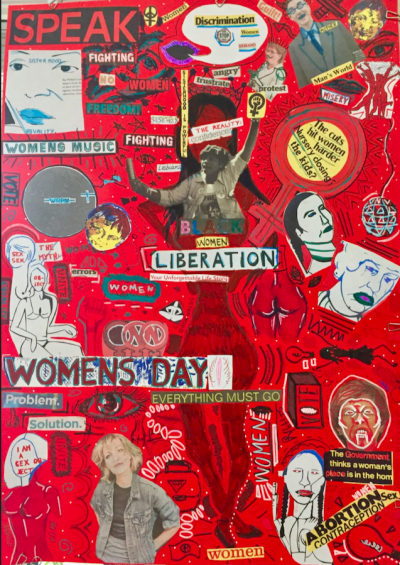 Students Black Women's Liberation poster