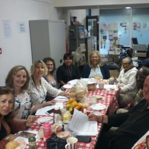 North Somerset BME Network bring and share lunch, liaising with other organizations